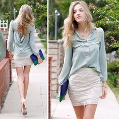Check out Earth Angel Look by BLVD, Anne Michelle and Audrey 3+1 at DailyLook
