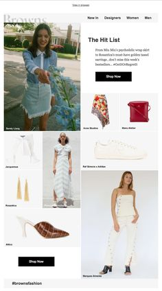 browns fashion email design