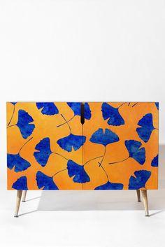 Hello Sayang Gingko Leaves Credenza | DENY Designs Home Accessories