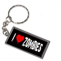 Generic I Love Heart Zombies Keychain Key Chain Ring #affiliatelink Zombie Girl, I Love Heart, Key Chain Rings, Personalized Items, Silver, Zombies, Walmart, Money