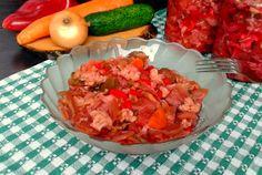 Retete Culinare - Salata taraneasca de legume pentru iarna