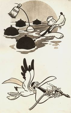 WALT DISNEY Studios WW2 Pluto ARMY Mascot SQUADRON Insignia CARTOON 1941