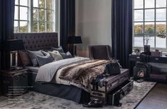 London Sänggavel - Artwood - Dennys Home Bedroom Bed, Master Bedroom, Bedrooms, Dark Brown Furniture, Dark Interiors, How To Make Bed, Country Decor, Home And Living, House Design
