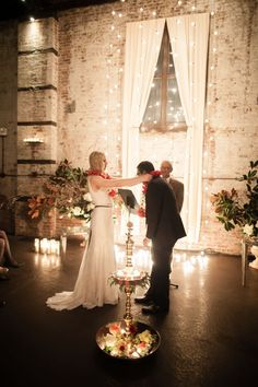 Lauren's + Ronnie's December wedding // Photos by Moss + Isaac