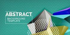 Vector triangular 3d geometric shapes background, modern poster design - , #Affiliate, #geometric, #shapes, #Vector, #triangular #AD Free Vector Images, Vector Free, 3d Geometric Shapes, Photographers Near Me, Background Templates, Abstract Backgrounds, Presentation, Illustration, Artwork