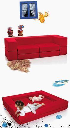 mommo design: LIL'GAEA FURNITURE FOR KIDS, Dream sofa/playground