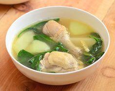 Tinolang Manok (Chicken Tinola) - Kawaling Pinoy