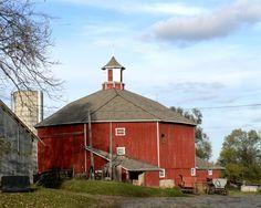 Unique barn.....