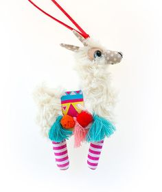 Colorful Llama/ Necklace Llama/ Sweet Llama/ Necklace Alpaca/
