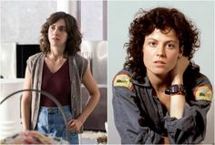 """Hairstylist Theraesa Rivers (who previously worked on Mad Men) told BuzzFeed that before filming, Alison Brie's hair was """"down to the middle of her back,"""" but that Brie was """"gung ho"""" about the shag razor cut and perm that Rivers gave her."""
