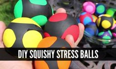 Making your own stress balls is a great way to save money as you will have an item that is cheaper and works just the same as items that are often costly.
