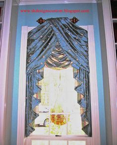 Custom Window Treatments - Greater Houston Texas area traditional-living-room