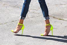 Kristen Noel's Neon Louboutin's