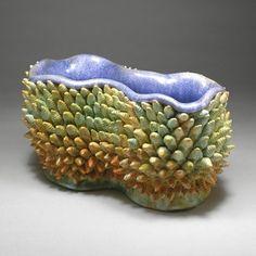 Kate Malone: Twin Evergreen Bud Bowl