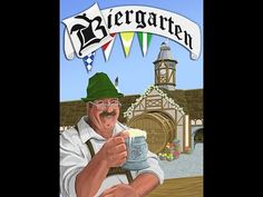 Biergarten: A Light Card-Laying Game of Bavarian Traditions by Steamboat Gothic Studio — Kickstarter