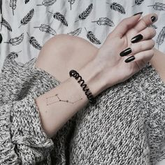 STYLECASTER   Cool Tattoos   Constellation Tattoo