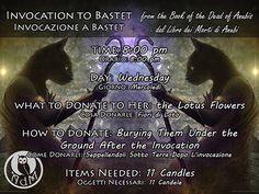 Invocation to Bastet from the Book of the Dead of Anubis Invocazione a Bastet dal Libro dei Morti di Anubi || L'antro della Magia http://antrodellamagia.forumfree.it/?t=72054043