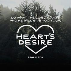 Delight yourself in the Lord , and he will give you the desires of your heart. http://bible.com/59/psa.37.4.ESV