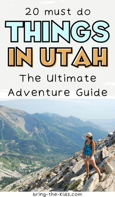 The top most breathtaking places to visit on a trip to Utah and when to visit! Add these bucket list destinations from Utah National Parks, Great Salt Lake, Zion, Moab, Narrows, Arches, Lake Powell, St. George and more! Plus the best tips on things to do in Utah with kids at each outdoor natural wonder like easy hiking trails, camping, whitewater rafting, swimming, paddle boarding and more! Travel Utah for your next family adventure vacation! Snow Canyon State Park, Utah Camping, Utah Vacation, Utah Adventures, Whitewater Rafting, Lake Powell, Family Adventure, Paddle Boarding, Park City