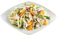 Insalata Amalfitana - Crunchy Salad with Fennel, Radishes, Cucumbers & Orange Segments in Red Wine Vinaigrette from Red Wine Vinaigrette, Fennel, Salad, Dishes, Orange, Store, Cooking, Party, Recipes