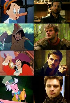 Cartoon vs. Once Upon a Time