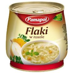 Pamapol Beef Tripe in Broth Flaczki w Rosole 920 g (Pack of Beef Tripe, Soup, Homemade, Soldiers, Polish, Amazon, Happy, Vitreous Enamel, Amazons