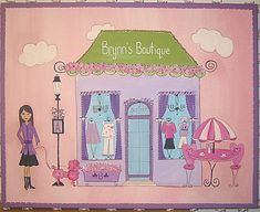 Paris Themed Girls' Room | Brynn's Boutique- Personalized