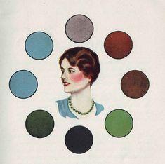Simple 1930 Color Harmony Tool The Auburn-haired-girl