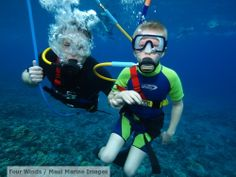 Our SNUBA kids rock! Molokini Crater is the ideal place to give this adventure a try!