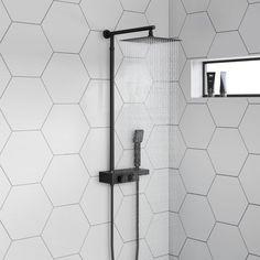 4 Good-Looking Cool Ideas: Cheap Shower Remodeling Diy shower remodeling with window.Shower Remodel With Window Walk In small shower remodeling corner. Mixer Shower, Shower Tub, Shower Heads, Bathroom Showers, Bathroom Ideas, Shower Stalls, Diy Shower, Bathroom Inspo, Bathroom Renos