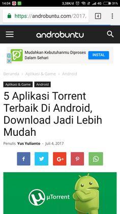 5 aplikasi torrent terbaik di android, baca selengkapnya di androbuntu.com.