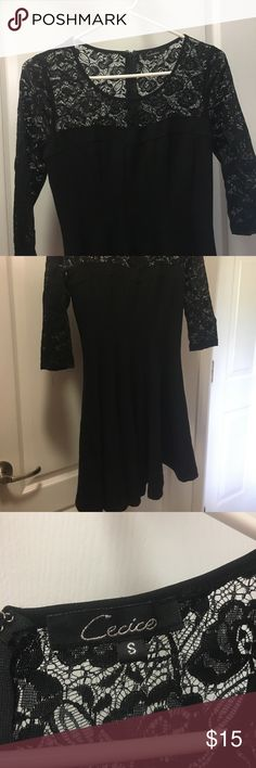Black Lacy Dress Got it from Altar'd State, lightly worn, firs a small Dresses