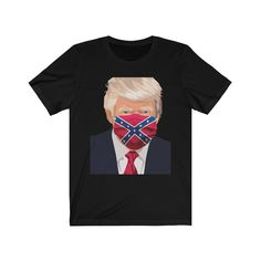 Trump Funny, Jersey Shorts, Pin Image, Sell On Etsy, Funny Humor, Short Sleeve Tee, Rebel, Etsy Shop, Unisex