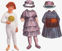 Vintage Paper Dolls II by donnakorm