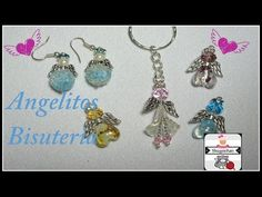 Dos tipos de Angelitos hecho con Bisuteria - YouTube Drop Earrings, Personalized Items, Youtube, Angels, Jewelry, Tutorials, Stud Earrings, Bangle Bracelets, Finger Knitting
