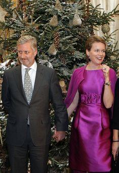 King Philippe of Belgium and Queen Mathilde