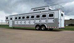 8 horse trailer