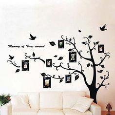 Foto Hot Frames Venta Tree Moda DIY Decoración etiqueta de la pared