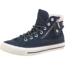 cute fluffy bluey-grey ankle trainers...lovely little winter walkers !