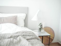 Linen Sheets / Louis Poulsen Aj / Fritz Hansen Objects
