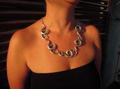 statement jewellery Bib Necklace statement by ellajewelrystore England Fashion, Women Jewelry, Unique Jewelry, Boho Necklace, Bohemian Jewelry, Gifts For Wife, Statement Jewelry, Etsy Shop, Jewellery