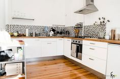 Кухонная мебель в скандинавском стиле