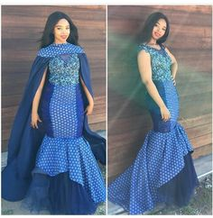 Image may contain: 2 people African Print Wedding Dress, African Wedding Attire, African Attire, African Weddings, African Prom Dresses, African Fashion Dresses, African Dress, Long Dresses, Ankara Gowns