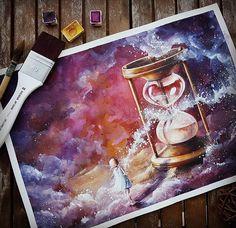 Художник: @rabi__rabi #акварель #aquarelle #painting #drawing #art #artist #artwork #painting #illustration #watercolor #aquarela #рисую #рисунок #рисуюкаждыйдень #акварелька #aquarelle #drawing #handpainted #colorful #люблюмоскву #учусьрисовать #artwork #watercolorist #waterblog #art_we_inspire #inspiring_watercolors #ProArtists #рисование #arts_gallery #artmotive