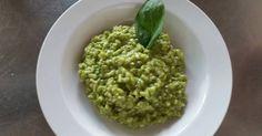 Fabulosa receta para Risotto al pesto. Este risotto al pesto es una auténtica delicia!!