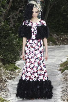 Karl Lagerfeld for Chanel Haute Couture Show Printemps-été 2013
