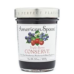 Triple Berry Conserve by American Spoon my favorite!