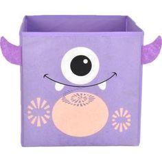 Friendly Monster Storage Bin in Purple