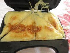 Receita de Waffle pão de queijo - Tudo Gostoso