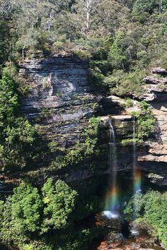 Oh Rainbow! Blue Mountains, NSW, Australia by randomix, via Flickr
